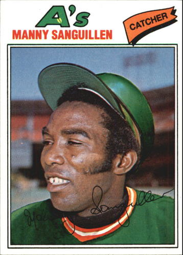 Photo of 1977 Topps #61 Manny Sanguillen