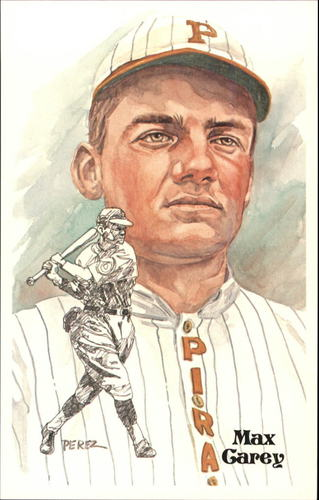 Photo of 1980-02 Perez-Steele Hall of Fame Postcards #85 Max Carey -- Set #08689