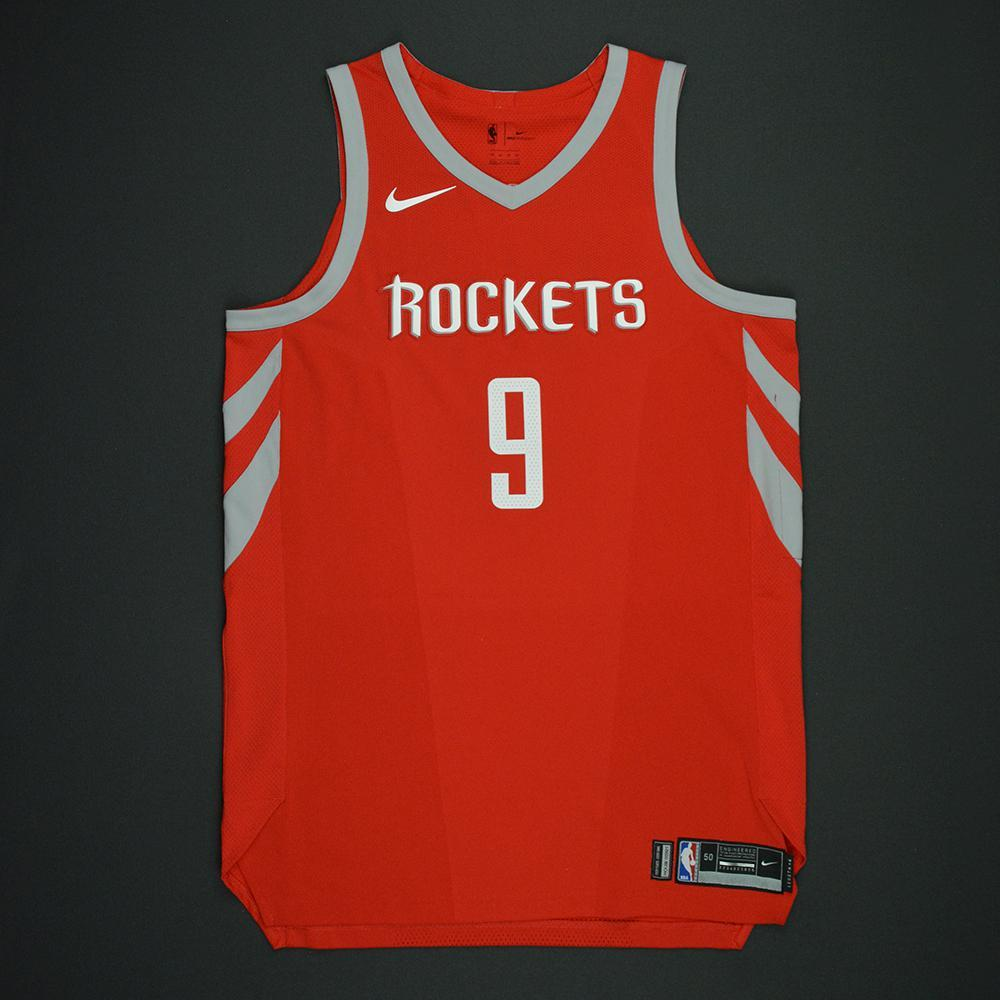 Qi Zhou - Houston Rockets - Opening Night Game-Worn Jersey Charity Auction - OneAmericaAppeal.org - Dressed, Did Not Play