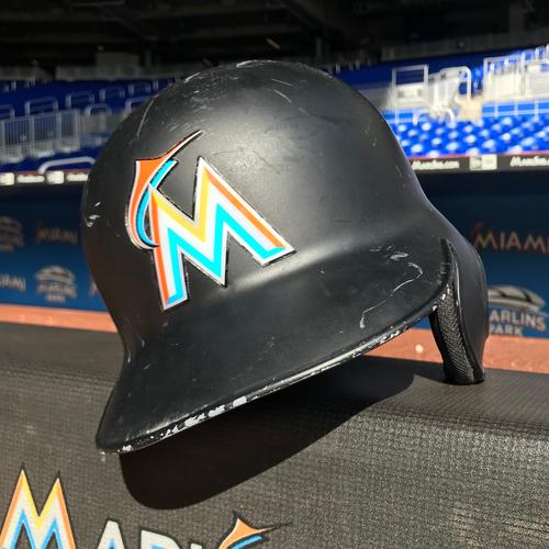 Photo of Game-Used Helmet: Jose Urena
