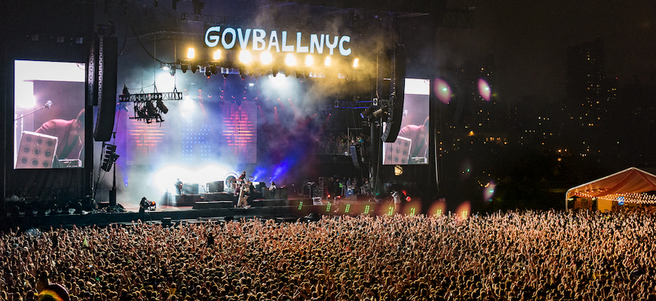 GOVERNORS BALL MUSIC FESTIVAL IN NYC - PACKAGE 1 of 4