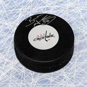 Braden Holtby Autographed Washington Capitals Hockey Puck