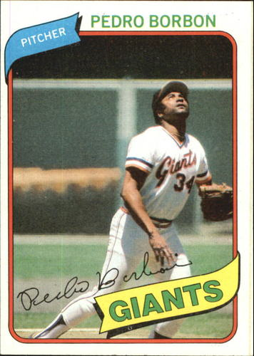 Photo of 1980 Topps #627 Pedro Borbon