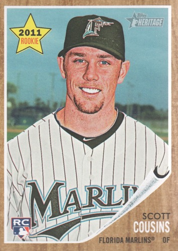 Photo of 2011 Topps Heritage #119 Scott Cousins RC