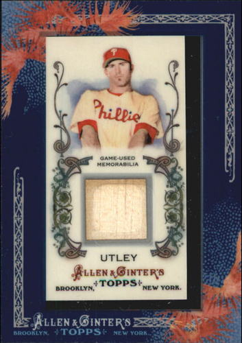 Photo of 2011 Topps Allen and Ginter Relics #CU Chase Utley