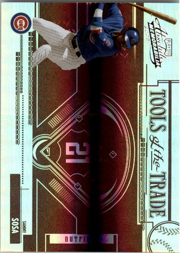 Photo of 2005 Absolute Memorabilia Tools of the Trade Reverse Spectrum Red #76 Sammy Sosa
