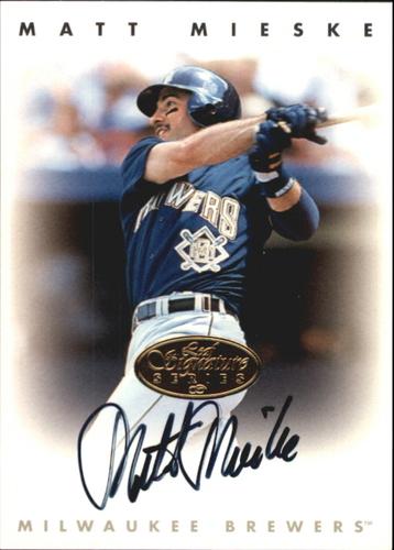 Photo of 1996 Leaf Signature Autographs Gold #155 Matt Mieske