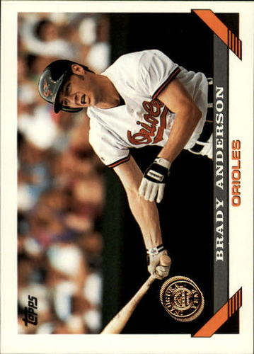 Photo of 1993 Topps Inaugural Rockies #355 Brady Anderson