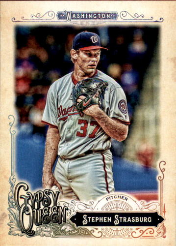 Photo of 2017 Topps Gypsy Queen #7 Stephen Strasburg