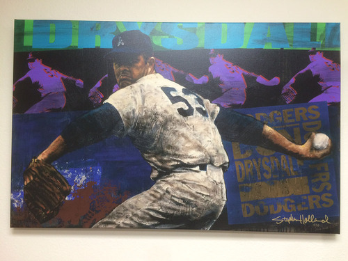 Photo of Don Drysdale Canvas by Stephen Holland