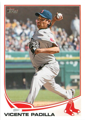 Photo of 2013 Topps #279 Vicente Padilla