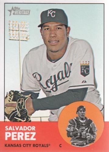 Photo of 2012 Topps Heritage #236 Salvador Perez