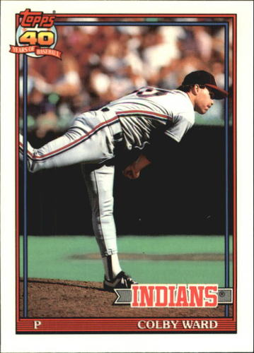 Photo of 1991 Topps Tiffany #31 Colby Ward