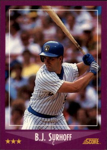 Photo of 1988 Score Glossy #22 B.J. Surhoff