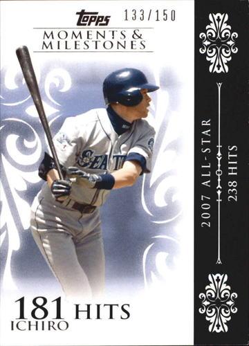 Photo of 2008 Topps Moments and Milestones #63-181 Ichiro Suzuki
