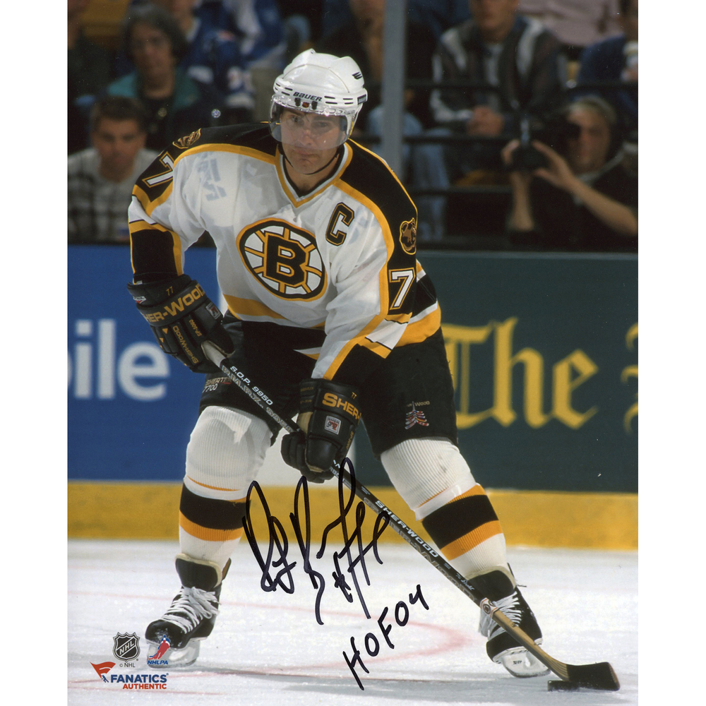 Ray Bourque Boston Bruins Autographed 8