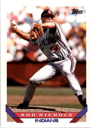Photo of 1993 Topps #372 Rod Nichols