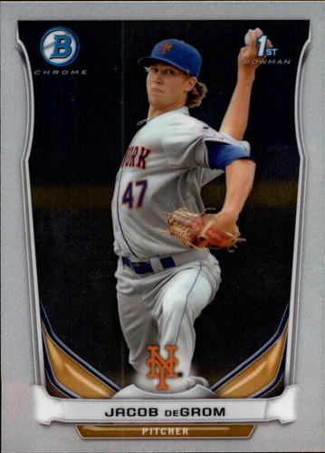 Photo of 2014 Bowman Chrome Prospects #BCP73 Jacob deGrom