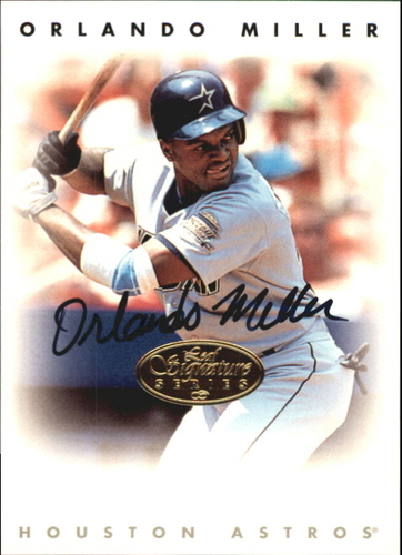 Photo of 1996 Leaf Signature Autographs Gold #156 Orlando Miller