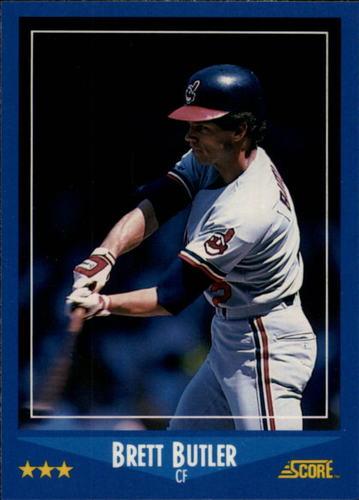 Photo of 1988 Score Glossy #122 Brett Butler
