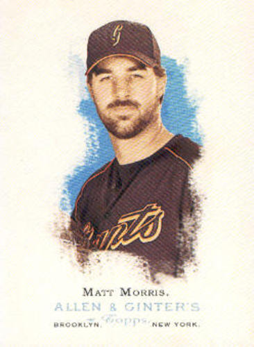 Photo of 2006 Topps Allen and Ginter #208 Matt Morris