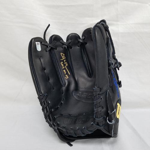 Photo of Kershaw's Challenge: Clayton Kershaw Autographed Game Model Glove