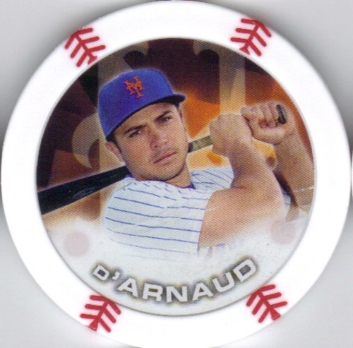 Photo of 2014 Topps Chipz #22 Travis d'Arnaud