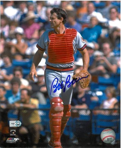 Photo of Bob Boone Autographed 8x10