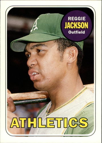 Photo of 2006 Topps Rookie of the Week #11 Reggie Jackson 1969