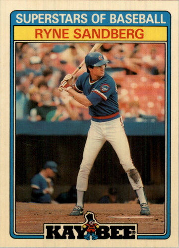 Photo of 1987 Kay-Bee #28 Ryne Sandberg