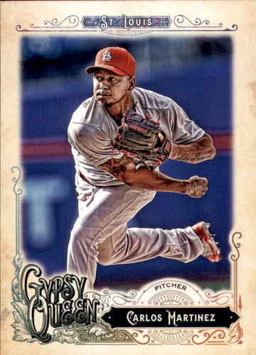 Photo of 2017 Topps Gypsy Queen #8 Carlos Martinez