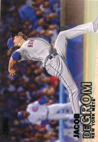 Photo of 2016 Stadium Club Black #221 Jacob deGrom