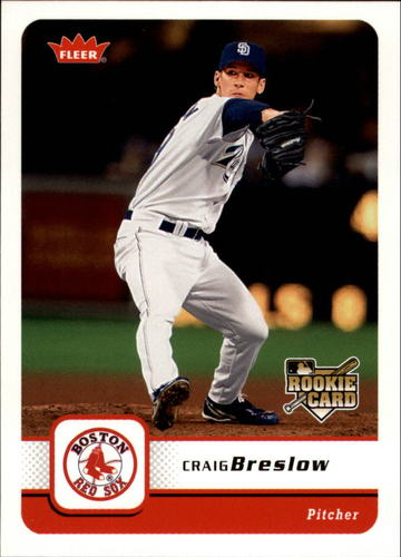 Photo of 2006 Fleer #255 Craig Breslow Rookie Card -- Indians post-season
