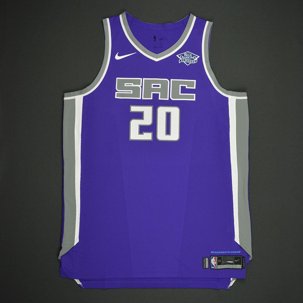 Harry Giles - Sacramento Kings - 2017 NBA Draft - Autographed Jersey