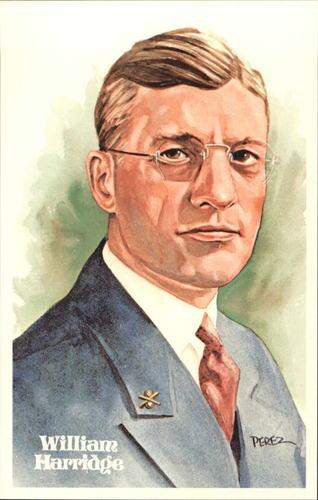 Photo of 1980-02 Perez-Steele Hall of Fame Postcards #130 William Harridge -- Set #08689