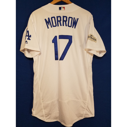 Photo of Brandon Morrow Home 2017 Team-Issued Post Season Jersey