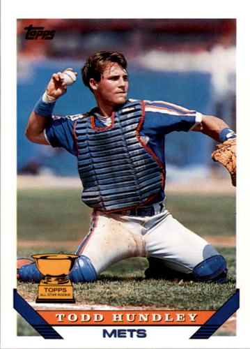 Photo of 1993 Topps #380 Todd Hundley