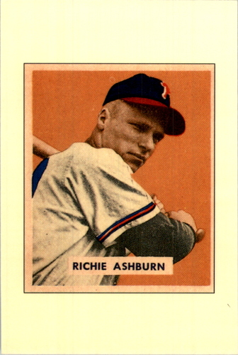 Photo of 1989 Bowman Reprint Inserts Tiffany #1 Richie Ashburn '49