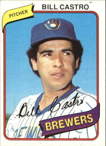 Photo of 1980 Topps #303 Bill Castro