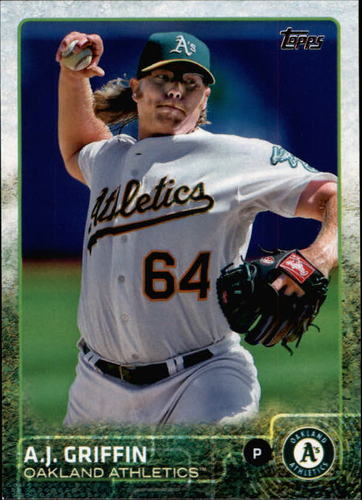 Photo of 2015 Topps #554 A.J. Griffin