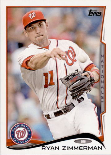 Photo of 2014 Topps #378 Ryan Zimmerman