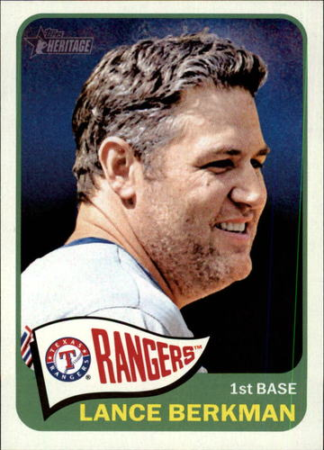 Photo of 2014 Topps Heritage #113 Lance Berkman