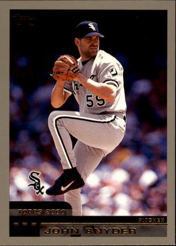 Photo of 2000 Topps #154 John Snyder RC