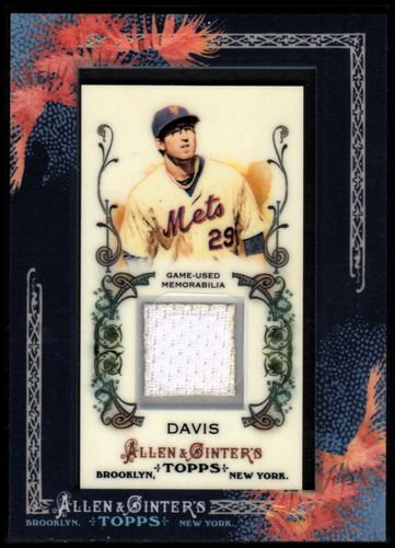 Photo of 2011 Topps Allen and Ginter Relics #ID2 Ike Davis Jsy