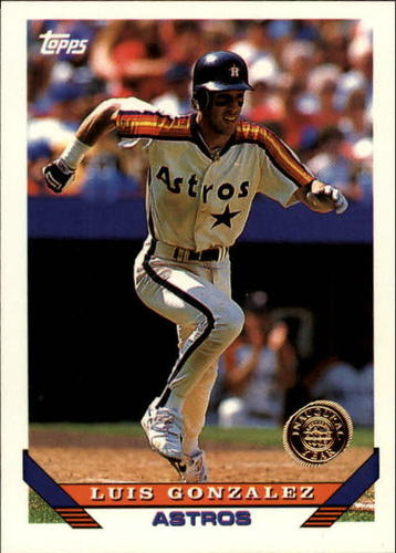 Photo of 1993 Topps Inaugural Rockies #362 Luis Gonzalez