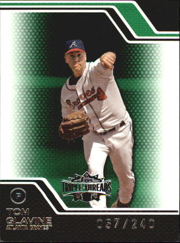 Photo of 2008 Topps Triple Threads Emerald #74 Tom Glavine