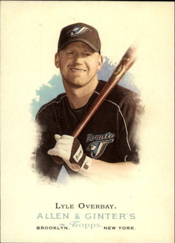 Photo of 2006 Topps Allen and Ginter #218 Lyle Overbay