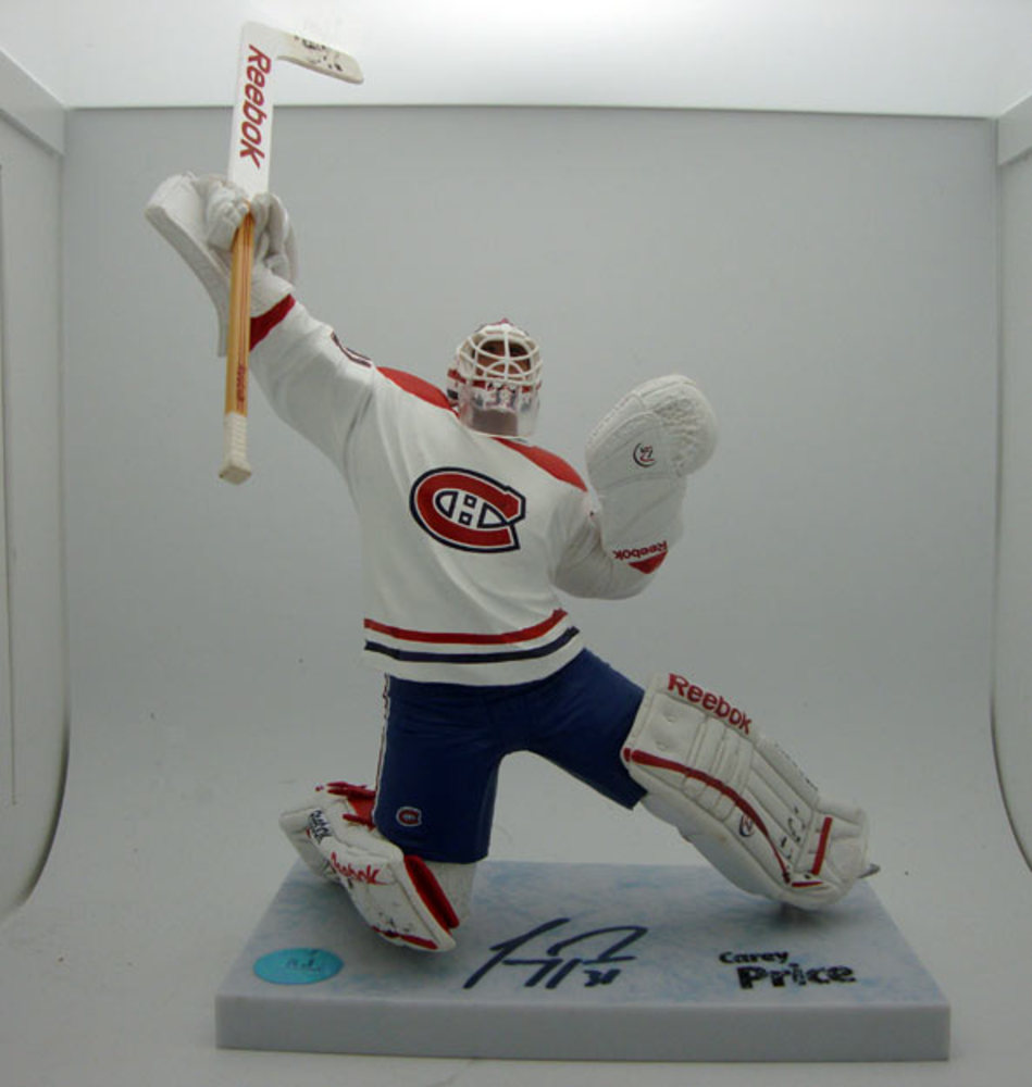 Carey Price Montreal Canadiens Autographed McFarlane Figure