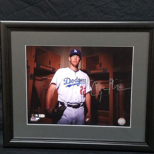 Photo of Kershaw's Challenge: Autographed Clayton Kershaw 11x14 Framed Photo
