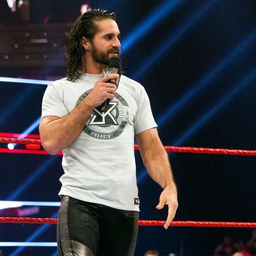 Photo of Seth Rollins WORN & SIGNED T-Shirt (RAW - 01/16/17)
